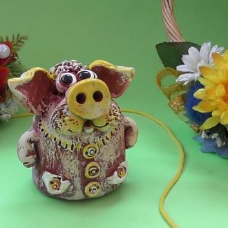 Свинья Копилка №4 свинка