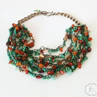 Ожерелье «Мечтательный лес»