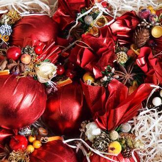 Новогоднее украшение, новогодняя игрушка, елочный шар ручной работы