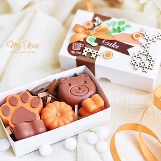 Набор деткского мыльца ручной работы Classic KIDS Апельсиновая шоколадка