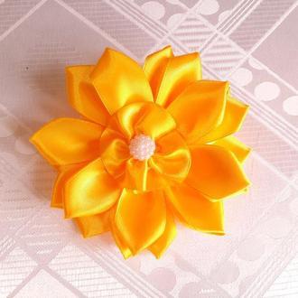 """Бантик """"Солнечный цветок"""""""