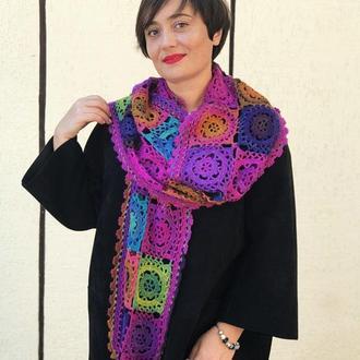 Длинный шарф Ярмарки краски