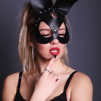 маска зайца портупея