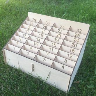 Коробка полка для зберігання мобільних телефонів у школі