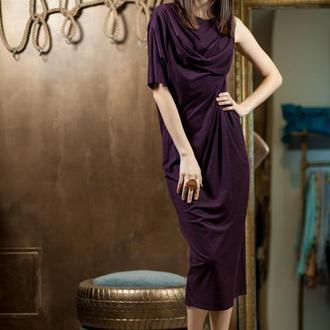 Платье трикотажное 25235