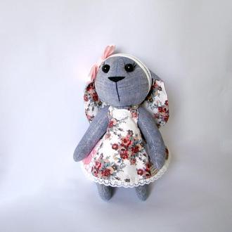 М′яка іграшка зайчик у сукні