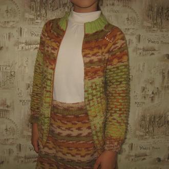 костюм (юбка+кофта)