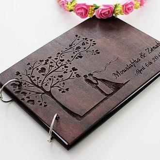Свадебная книга пожеланий Пара