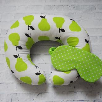Дорожная подушка на шею - груши