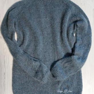 Шикарный свитер с люрексом из итальянской пряжи
