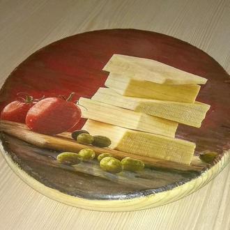 Сырная досточка диаметр 20 см