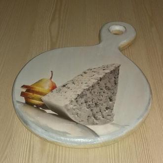 Сырная досточка диаметр 18 см