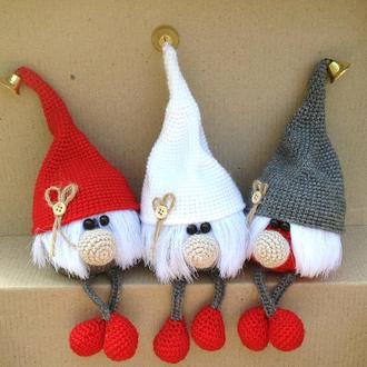 Рождественский декор,гномики,игрушки на елку