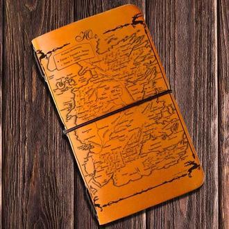 """Блокнот путешественника Voyager """"Волшебная карта"""""""