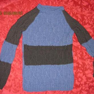 свитер с рукавом реглан