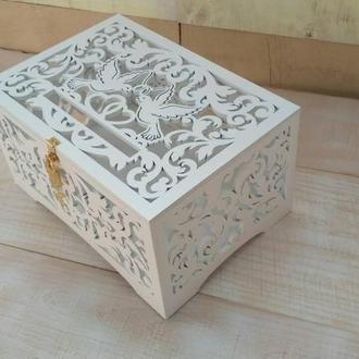 Весільна коробка/Свадебный сундук для денег