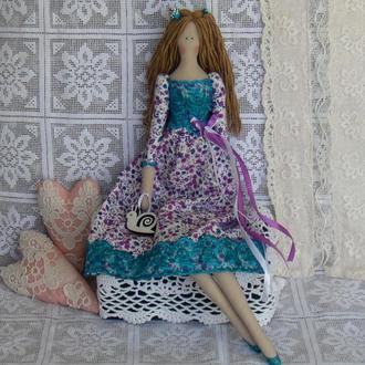 Кукла в стиле Тильда Кайли 49см