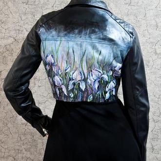 Куртка с ручной росписью