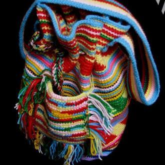 Вязаная крючком сумка Колумбийская мочила