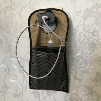 Карман для телефона на зарядке//Кишеня для телефону на зарядці