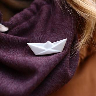орігамі кораблик
