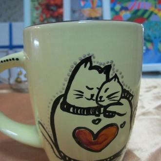 Рисунки на чашке