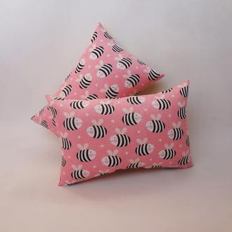 Декоративная подушка - пчелы