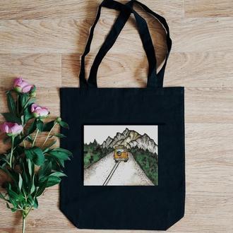 Эко-торба с авторским дизайном