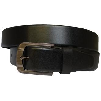 French классический мужской брючный кожаный черный ремень кожанный пояс