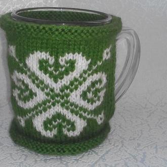 Чехол грелка на чашку