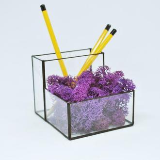 Органайзер, карандашница, для современного офиса под карандаши и ручки