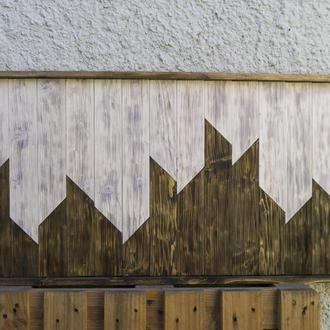 Панно из брошированого дерева (эко картина)