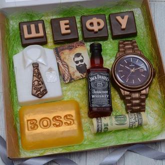 Набор мыла Боссу (начальнику)