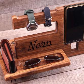 Подарок мужчине, парню, мужу. Оригинальный подарок. Орган из дерева для смартфона, айфона, телефона.