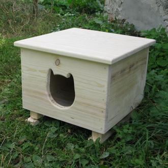 Домик, будка, для кота на зиму
