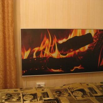 Інфрачервона теплова електрична панель ІТЕП 1200 з нанесеним малюнком, фотографією або картиною