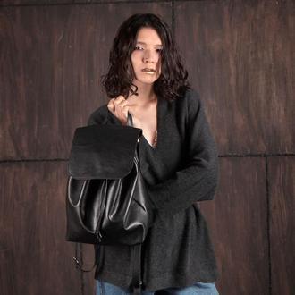 Городской рюкзак из кожи