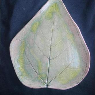тарілка   листочок