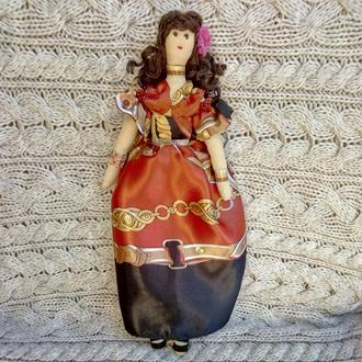 """Кукла """"Элеонора"""" в стиле тильда, текстильная, интерьерная, ручной работы"""