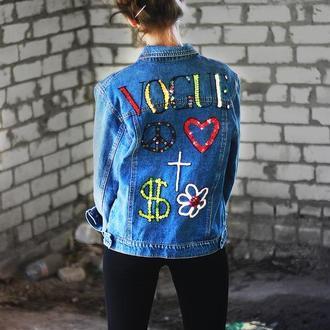 """Джинсова куртка """"VOGUE"""""""