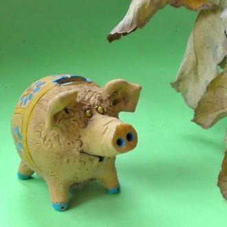 Свинья Копилка №6 свинка