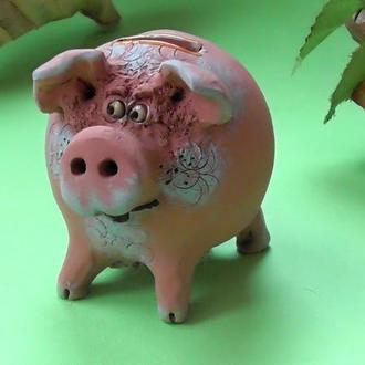 Свинья Копилка №7 свинка