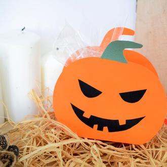 Коробочка с конфетами на Хэллоуин