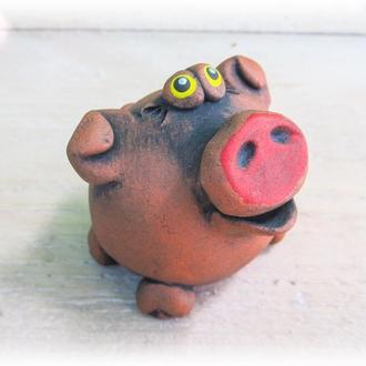 Керамічна фігурка Свинка