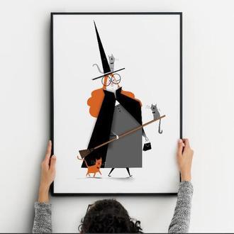 Постер для Хеллоуина