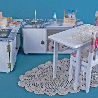 Набор кухонной мебели для кукол Барби (масштаб 1:6)