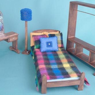 Спальня 1:6 для Барби