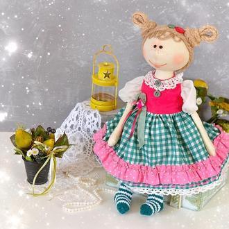 Авторская игровая кукла. Текстильные куклы и игрушки. Интерьерная кукла в подарок.