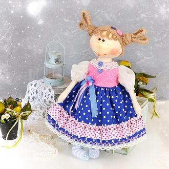 Кукла из ткани. Текстильные куклы. Интерьерная кукла в подарок. Кукла игровая.