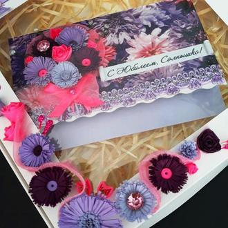 Люксовые открытки в подарочных коробках